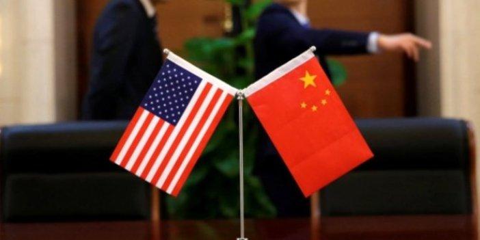 ABD'nin yaptırım kararına Çin'den misilleme