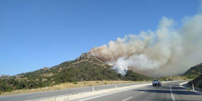 Balıkesir'de orman yangını kontrol altına alınamadı!