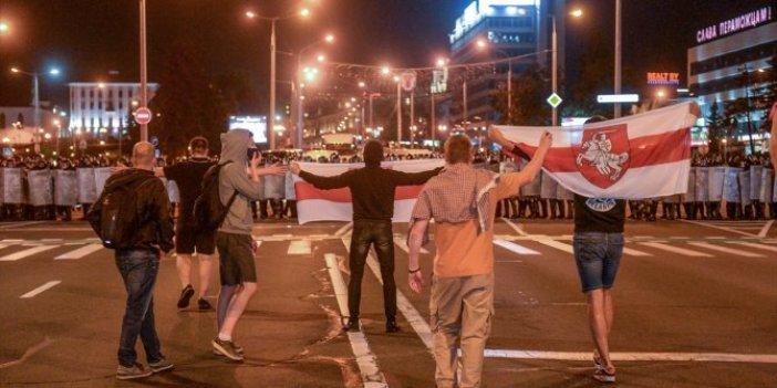 Belarus'ta gerginik sürüyor! Bir ölü