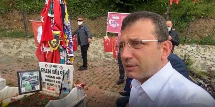 İmamoğlu Şehit Eren Bülbül'ün mezarını ziyaret etmişti