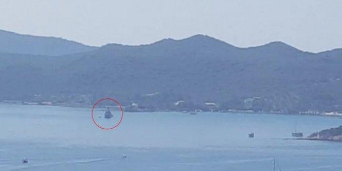 Akdeniz'de son gelişme! Türk hücumbotu Kaş'a, Yunan hücumbotu Meis Adası'na yanaştı
