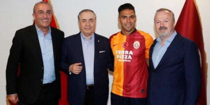 Galatasaray Başkanı Mustafa Cengiz: Falcao maaşında indirim yaptı, takımda kalacak