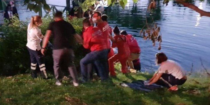 Eskişehir'de feci olay! Porsuk Çayı'na giren kişi boğuldu