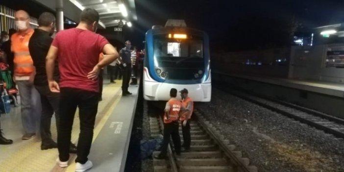 İzmr'de feci ölüm! Trenin altında can verdi