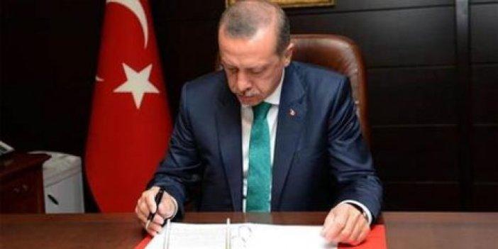 Erdoğan 16 üniversiteye rektör ataması yaptı