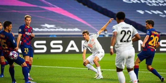 Bayern Münih - Barcelona maç sonucu: 8-2