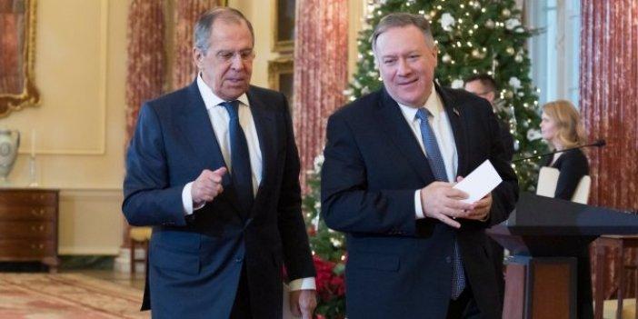 Lavrov ve Pompeo'dan kritik görüşme