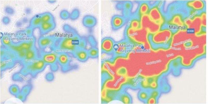 Bir ilimizde daha hasta sayıları patladı: Harita kıp kırmızı oldu