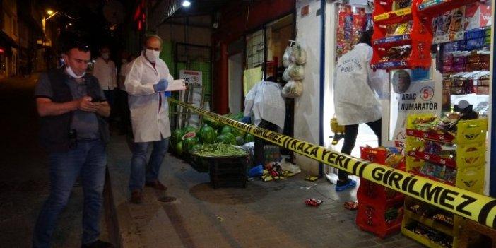 Husumetlisini takip etti markette kurşun yağdırdı! Bursa'da pompalı dehşeti