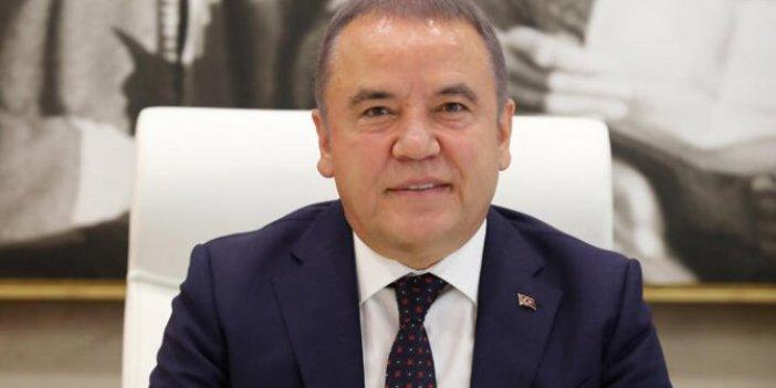Antalya Belediye Başkanının testi pozitif çıktı