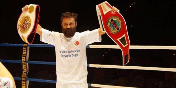 Diyaneti eleştirmişti! Milli boksör Arık'a kurşunlu tehdit