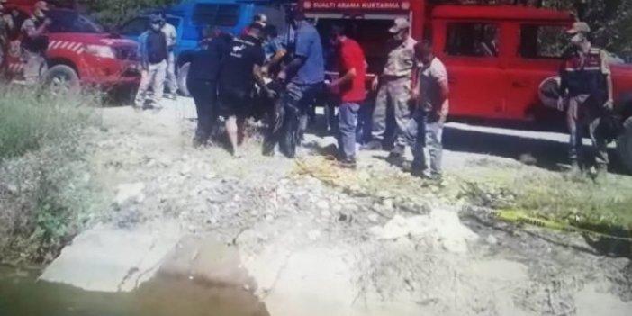 Sulama kanalına düşen çiftçi çırpına çırpına can verdi