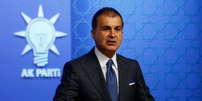 AKP Sözcüsü Ömer Çelik'ten  açıklamalar