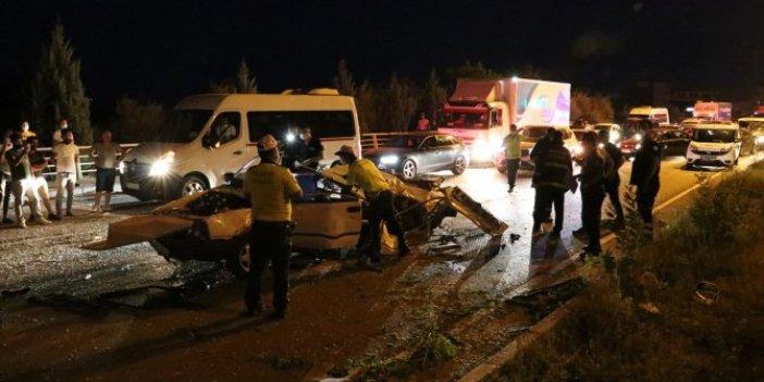 Karabük'te otomobil kamyonetle çarpıştı! Kaza olmasaydı otomobilinin çalındığından haberi yoktu