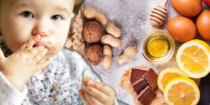 Bebeklerde veya çocuklarda besin alerjisine sebep olan gıdalar