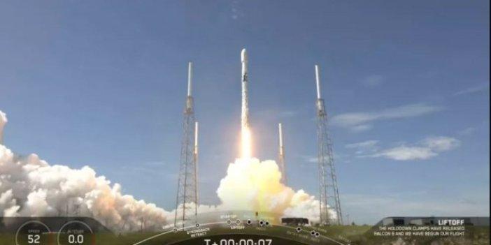 SpaceX, 58 Starlink uydusunu daha uzaya gönderdi