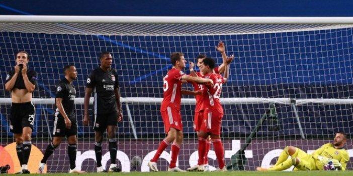 Bayern Münih, Şampiyonlar Ligi tarihine geçti!