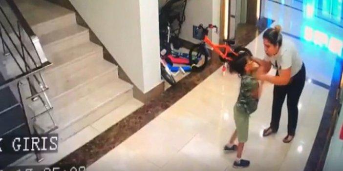 Kadın komşu çocuklarını öyle bir dövdü ki! Nedeni şoke etti