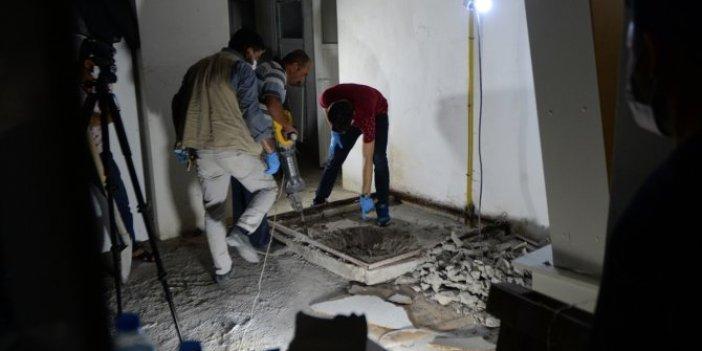 Kilis'te vahşet! Kayınvalidesinin üzerine beton döktü