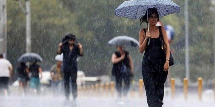 Meteoroloji'den yeni uyarı! Sağanak yağış var