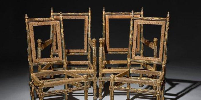 4 kırık sandalyeyi dünya fiyata sattılar