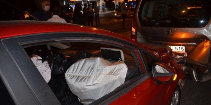Kahramanmaraş'ta zincirleme kaza! 6 araç birbirine girdi