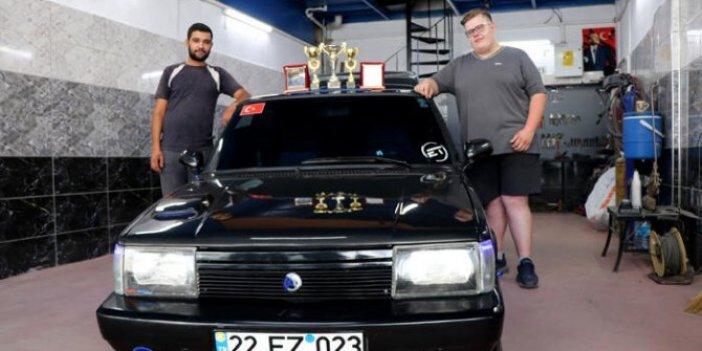 500 liralık parça yerine 700 liraya aldığı otomobili 45 bin liraya Almancıya sattı