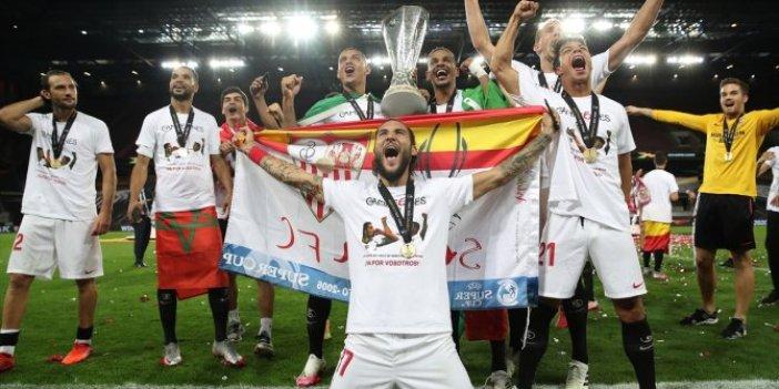 6. kez kupa müzesinde! UEFA Avrupa Ligi'nde şampiyon Sevilla