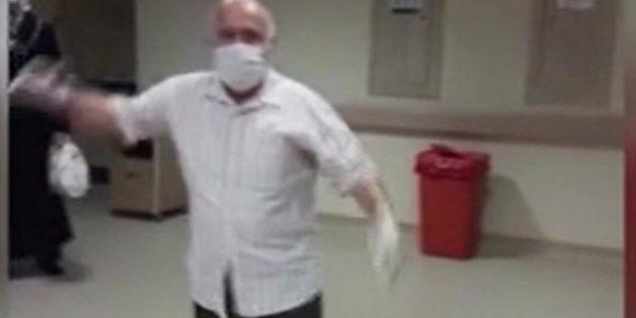 75 yaşında koronayı yendi! Hastaneden oynayarak çıktı