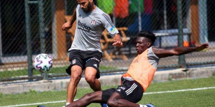 Beşiktaş'ta kıran kırana antrenman