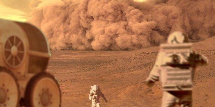 NASA araştırdı! Mars'ta binlerce yıl süren fırtınalar yaşandı