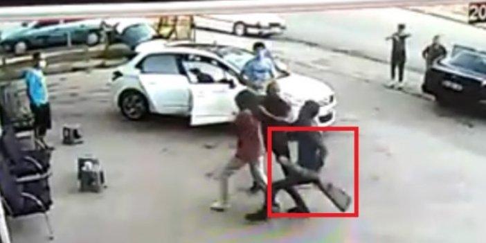 Kadın kaçtı adam tüfekle kovaladı!
