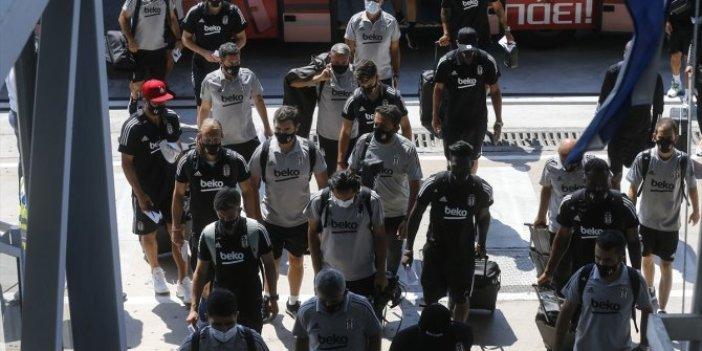 Beşiktaş Selanik'te! Kartal'a koruma ordusu