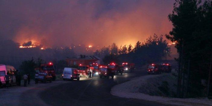 40 saat geçti! Adana Kozan'daki yangın söndürülemiyor