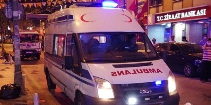 Magandalar bu seferde ambulans görevlilerine saldırdı!