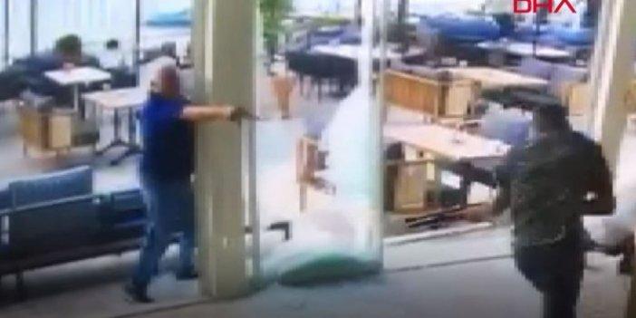 Göğüs göğse çatıştılar! Kafetaryada tüfek ve tabancalar ateşlendi
