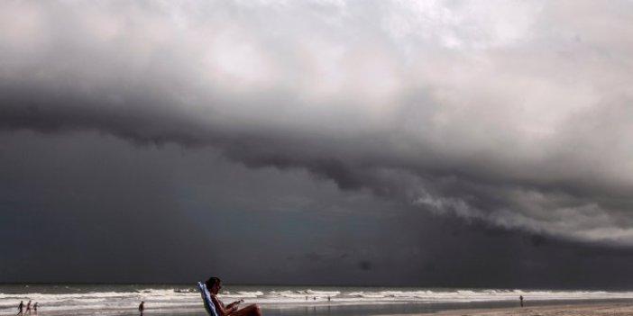 Tropik fırtına güçlenerek kıyıya doğru yaklaşıyor