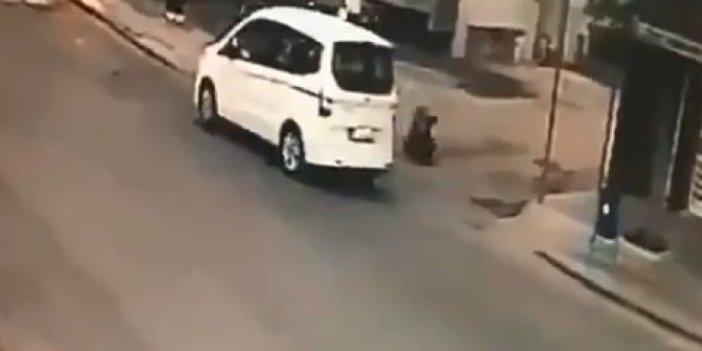 Boşandığı karısını sokak ortasında 5 el ateş ederek katletti!Dehşet anları kamerada