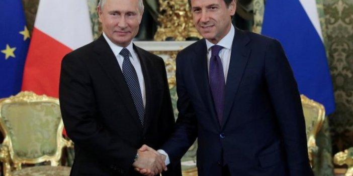 Putin ve Conte'den kritik görüşme