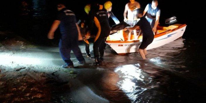 Silivri'de bir kişi 60 metre yükseklikten düştü!