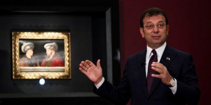 Fatih Sultan Mehmet'in tablosu yeniden İstanbul'da: Ekrem İmamoğlu bizzat gösterdi!
