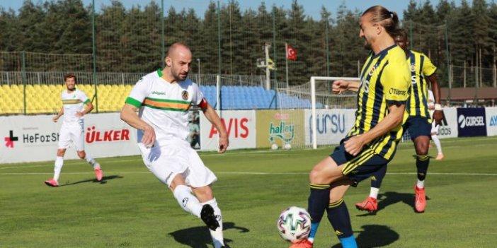 Fenerbahçe, Alanyaspor ile yenişemedi