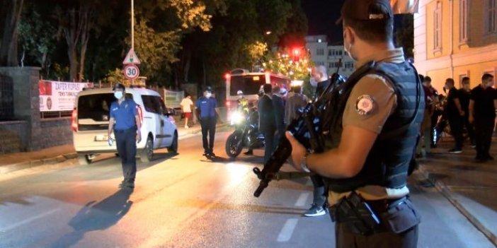 İstanbul'da asayiş denetimi! Bin 500 polis katıldı