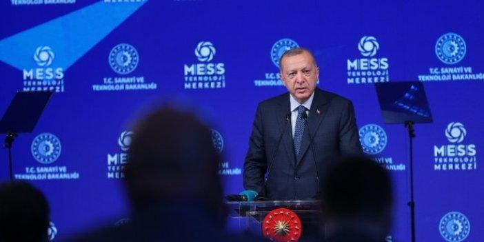 Cumhurbaşkanı Erdoğan MESS Teknoloji Merkezi Açılış töreninde konuştu