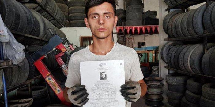 İzmir'de YKS'de ilk bine girdi, üniversiteye yerleşemedi