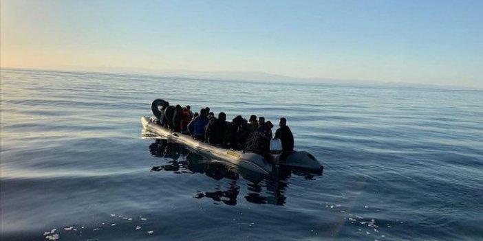 Göçmen botu alev aldı! 6 kişi kayıp