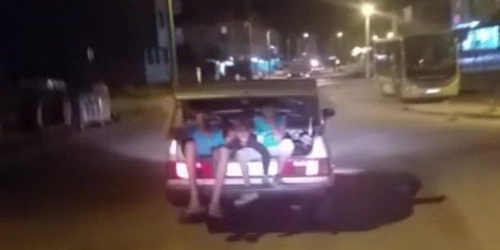 Otomobil bagajında ölüm yolculuğu