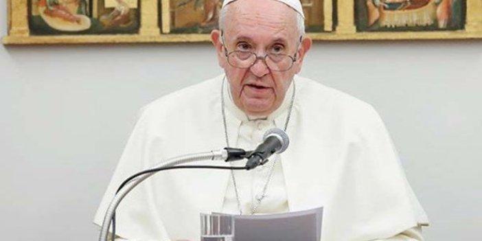 Papa'dan 'Doğu Akdeniz' çağrısı