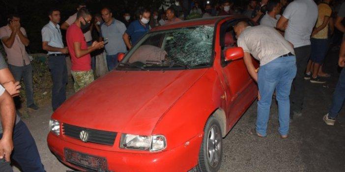 Aydın'da trafik kazası! 100 metre sürüklendi yakınları yolu kapattı