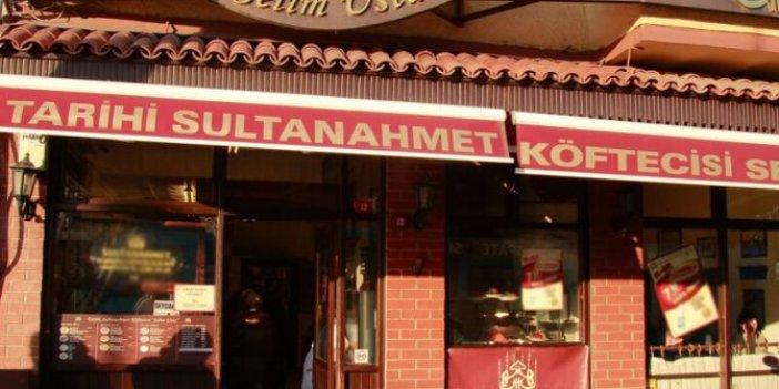 'Sultanahmet Köftecisi' hakkında mahkemeden şok karar